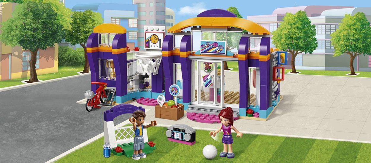 Конструктор для девочек Lepin 01012 Спортивный центр