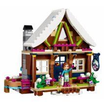 Детский конструктор Lepin 01040 Горнолыжный курорт: Шале