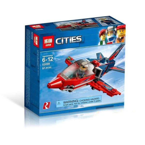 Развивающий конструктор Lepin 02098, аналог Lego 60177