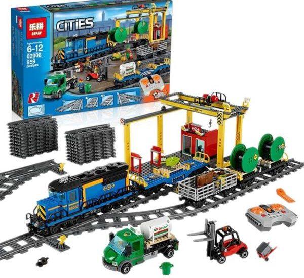 Детский конструктор железная дорога