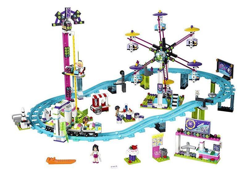 Конструктор для девочек Lepin 01008 Американские горки в парке развлечений