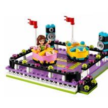 Детский конструктор Lepin 01009 Парк развлечений: аттракцион Автодром