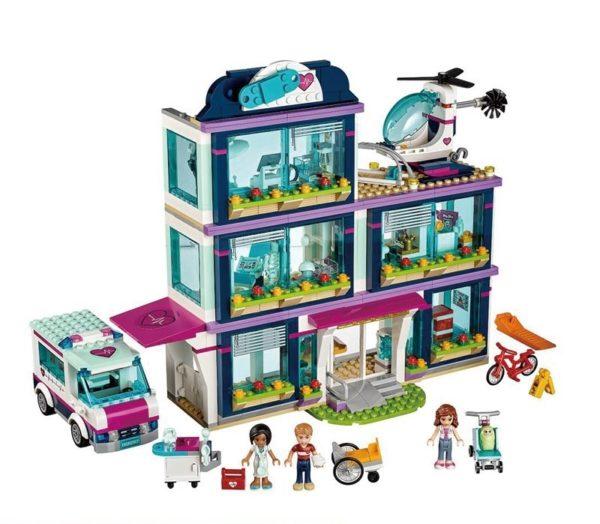 Конструктор для девочек Lepin 01039 Клиника Хартлейк
