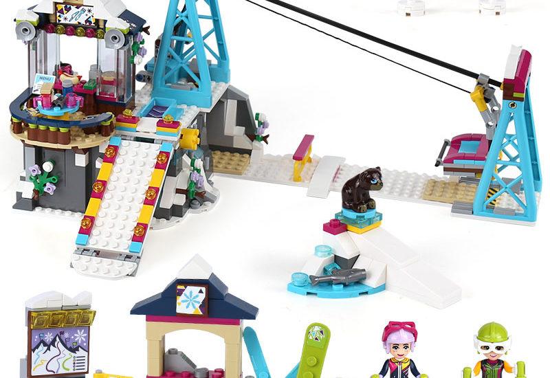 Детский конструктор Lepin 01042 Горнолыжный курорт: Подъёмник