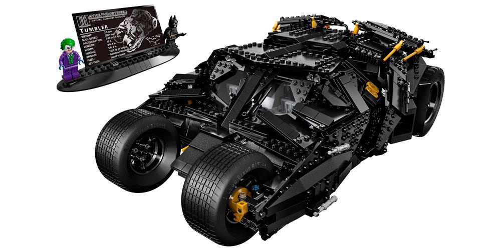 Конструктор Бэтмобиль Lepin 07060 (Lego 76023)