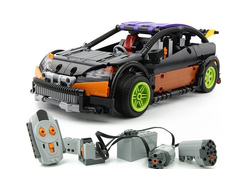 Машинка на пульте управления конструктор Lepin 20053