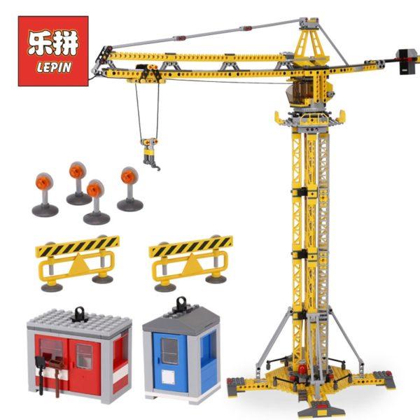 Конструктор Lepin 02069 Большой строительный кран