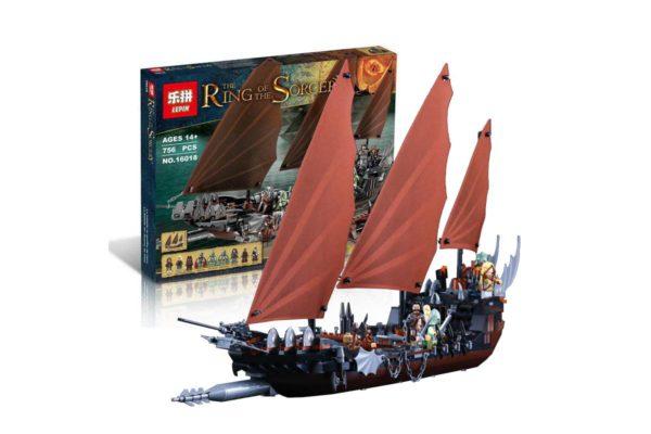 Конструктор Лепин 16018 Атака на пиратский корабль