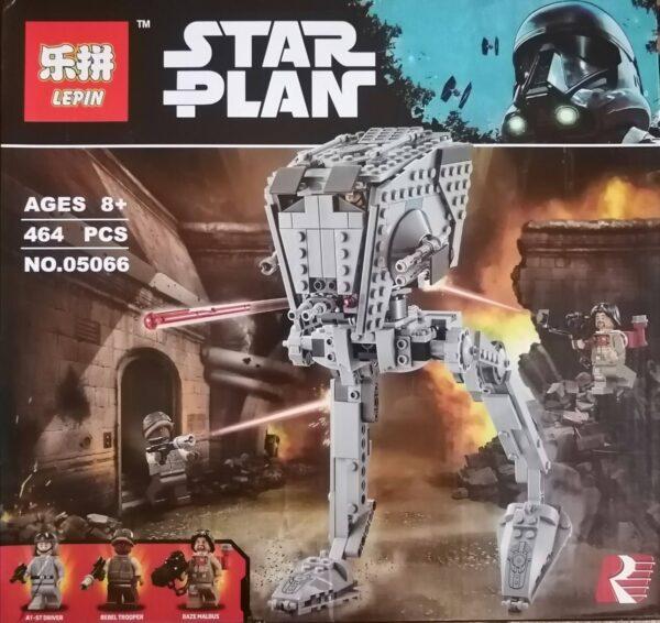 Конструктор Lepin 05066 Шагоход AT-ST аналог Lego Серия Star Wars