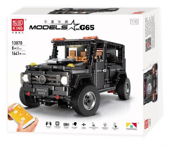 Конструктор Mould King 13070 Mercedes-Benz Gelandewagen G65 с дистанционным управлением