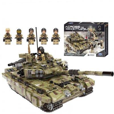 """Конструктор XingBao XB-06015 Военный танк """"Тигр""""."""