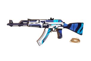 Автомат VozWooden АК-47 версия 1.6 Вулкан (деревянный резинкострел)
