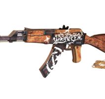Автомат VozWooden АК-47 версия 1.6 Пустынный Повстанец