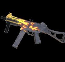 Пистолет-пулемет VozWooden UMP-45 версия 1.6 Пламя