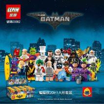 Конструктор Lepin 03082 Набор 20 минифигурок Бэтмена