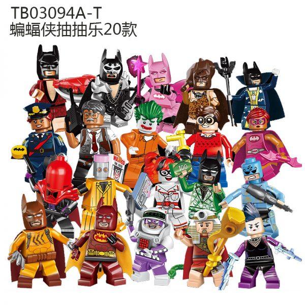 Конструктор Lepin 03094 Набор 20 минифигурок Бэтмена